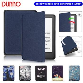 Новинка 2019 чехол Kindle для Funda Amazon Kindle 6 дюймов чехол Kindle 10 поколение водонепроницаемый флип-чехол для электронной книги