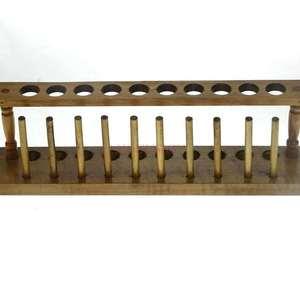 Wooden test tube rack 10 hole