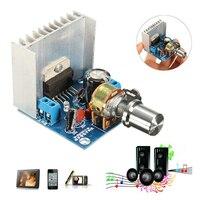 Hohe Qualität Audio Power Verstärker DC 9-15V TDA7297 Kein Lärm Modul Doppel Kanal AC/DC 12V 15W + 15W