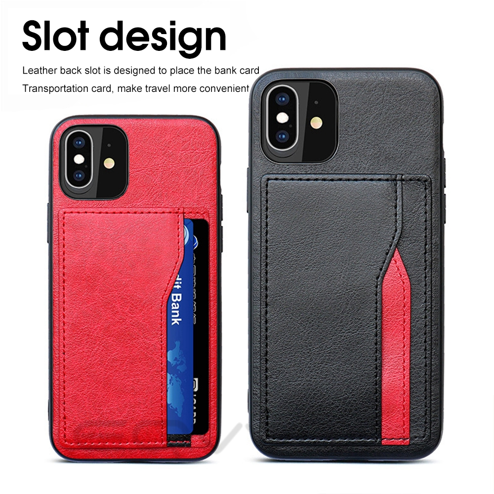 Hbfb18325f19344c1848f9ffb3544cc49s Eqvvol Retro PU Leather Case For iPhone 11 Pro MAX 2019 Multi Card Wallet Case For iPhone X XS MAX XR 11 Shockproof Cover Coque