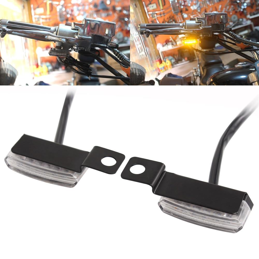 Universal Mini LED Turn Signal Light Flowing Water Blinker Flashing Indicator For Harley Yamaha Cafe Racer Scooter ATV Motocross