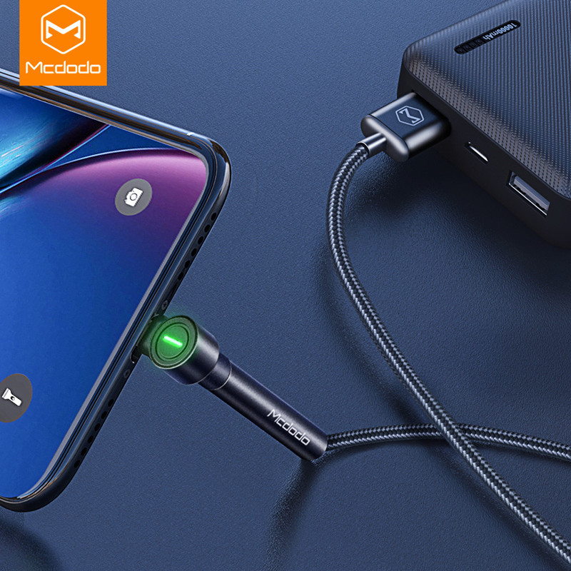 MCDODO 1.8m LED Fast Charging Holder Cable Mobile Phone Charger Data Cord USB Cable For iPhone 12 11 Pro MAX XS XR X 8 7 6s Plus|Mobile Phone Cables|   - AliExpress