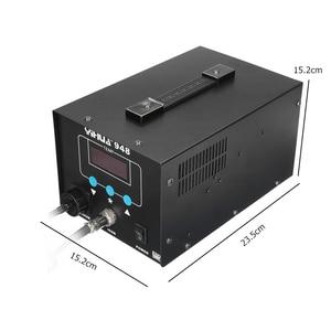 Image 3 - מקצועי 2 ב 1 דיגיטלי חשמלי יניקה פח הלחמה ברזל ידית הסרת הלחמה תחנת תיקון ריתוך מלחם סט