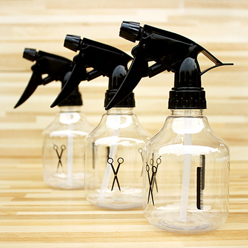 10 pçs 250ml hairdressing spray garrafa recarregável