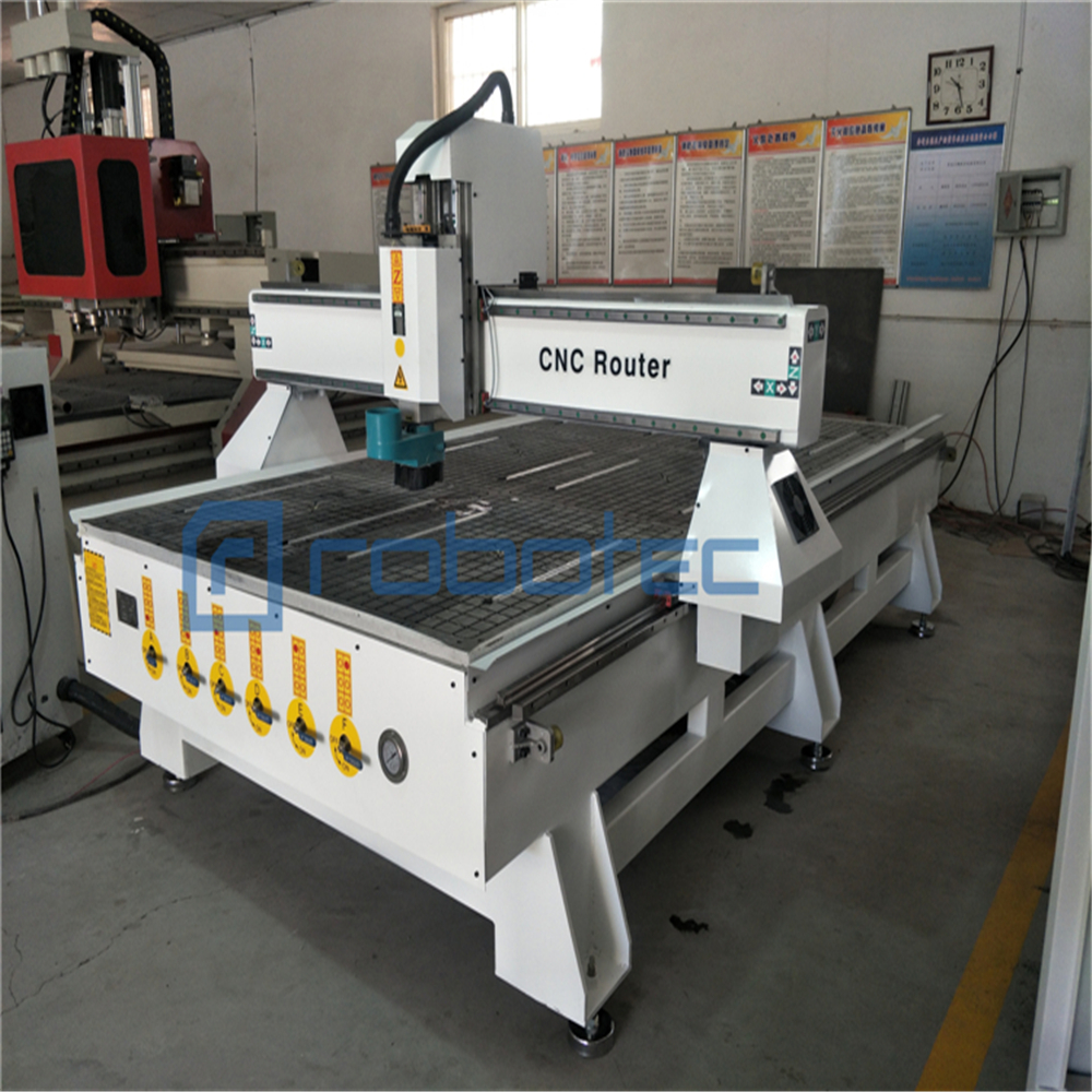 China Low Cost 3 Axis PCB Cnc Milling Machine With Gantry Type For Aluminum/Wood Chair Cutting Machine Mach3 CNC Router