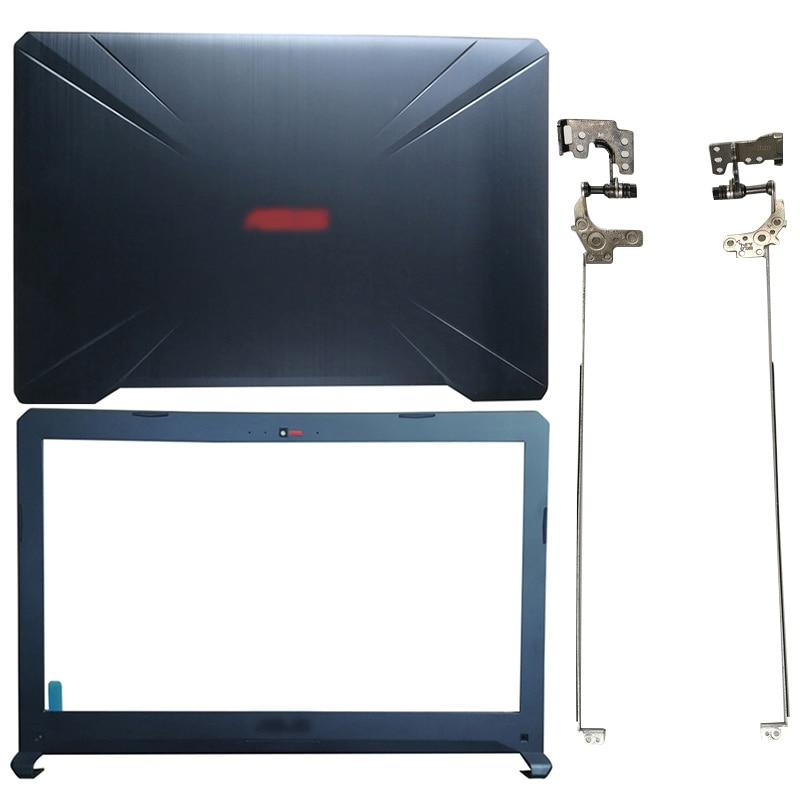 For ASUS FX80 FX80G FX80GD FX504 FX504G FX504GD/GE Laptop LCD Back Cover/Front bezel/Hinges/Palmrest/Bottom Case 47BKLLCJN70