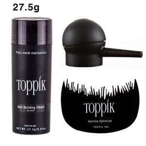 Hair Fibers Keratin Toppik Thickening Spray Hair Building Fibers 27.5g Loss Products Instant Wig Regrowth Powders