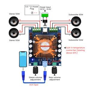 Image 2 - Aiyima TDA7850 Điện Kỹ Thuật Số Khuếch Đại Âm Thanh Ban 50W * 4 Bộ Phận Khuếch Đại Âm Thanh Đẳng Cấp AB 4 Xe Hơi Amplificador Stereo amp DIY