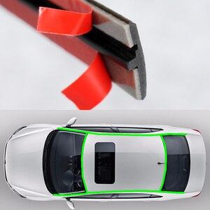 Image 3 - Gummi Auto Dichtung Auto Dach Scheibendichtstoff Gummi Protector Dichtung Streifen Schallschutz Fenster Dichtungen Auto Styling Für Auto