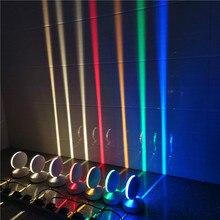 LED Window Sill Light Colorful Remote Corridor Light 360 Deg