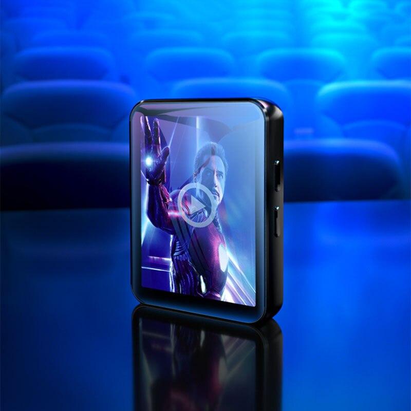Benjie X1 Bluetooth MP4 Speler Touch Screen 8Gb 16Gb Muziekspeler Met Fm Radio Video Speler E-book Speler MP3 Met Luidspreker 3