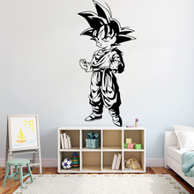 Classic Dragon ball Animated Character Wall Sticker Vinyl movie Cartoon home decor DIY wall decal for kids room Y63