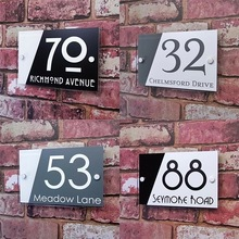 Customized House Number Signs Name Plates Address Plaques