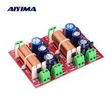 Aiyima 2 Stuks 400W Luidspreker Crossover 2 Weg Audio Aanpassing Tweeter Bass Filter Frequentie Divider Voor 2-16 ohm Diy Luidspreker