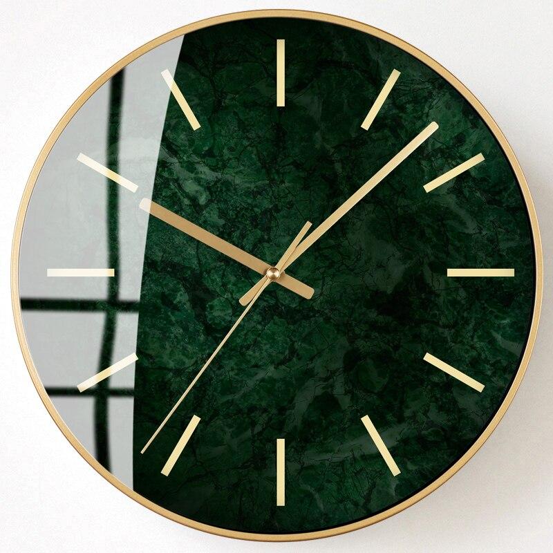 Minimaliste nordique horloge murale créatif silencieux cuisine salon horloges Design moderne élégant Relogio Parede Decoracion SS50WC - 2