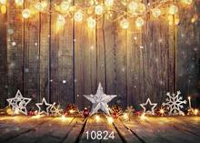 цена на Vinyl Custom Photography Backdrops Prop Christmas day Christmas Tree Theme Photo Studio Background ST-1333