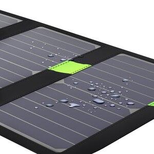 Image 5 - X DRAGON cargador de Panel Solar de 20W, cargador de batería Solar portátil, tecnología para iPhone, ipad, teléfonos Android, senderismo y aire libre
