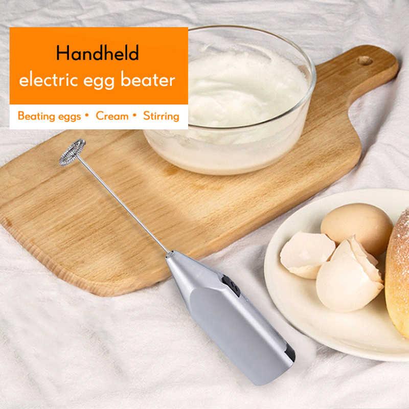 Mini spieniacz do mleka pić kawy ubijaczka, rózga elektryczny trzepaczka do jajek spieniacz spieniacz uchwyt mieszadło praktyczna kuchnia narzędzie do gotowania