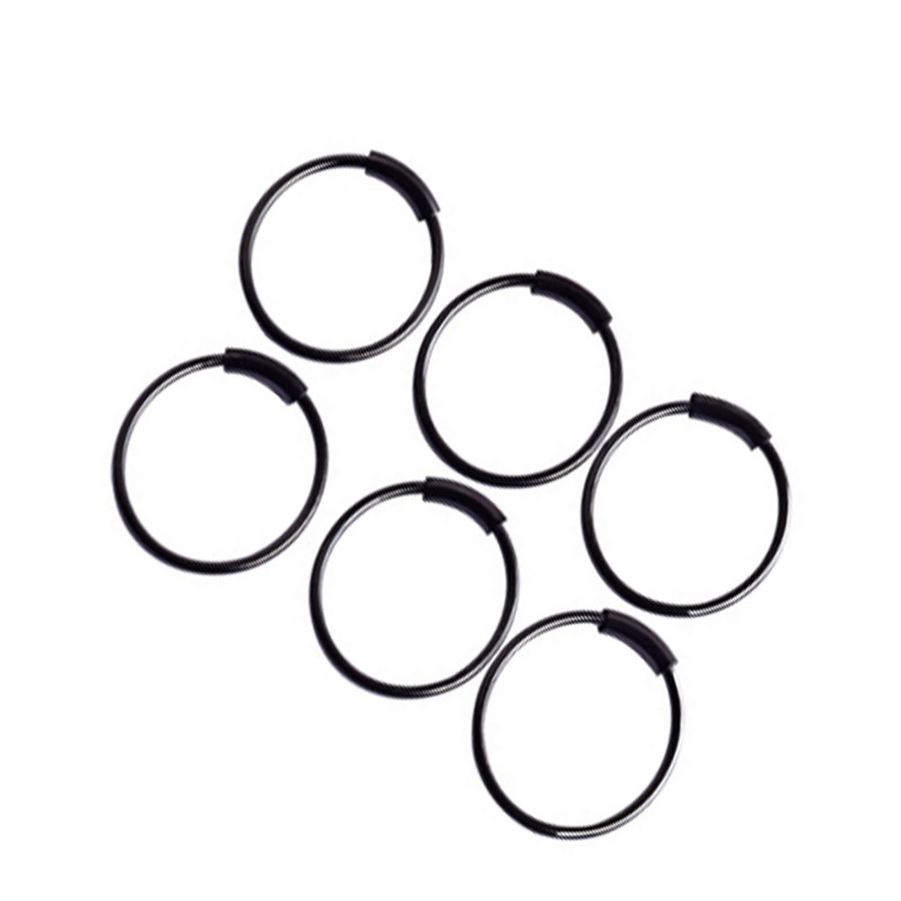 Round Circle Shape Medical Nose Ring Ladies Female Body Clip Hoop For Women Septum Piercing Clip Jewelry Gift Hot