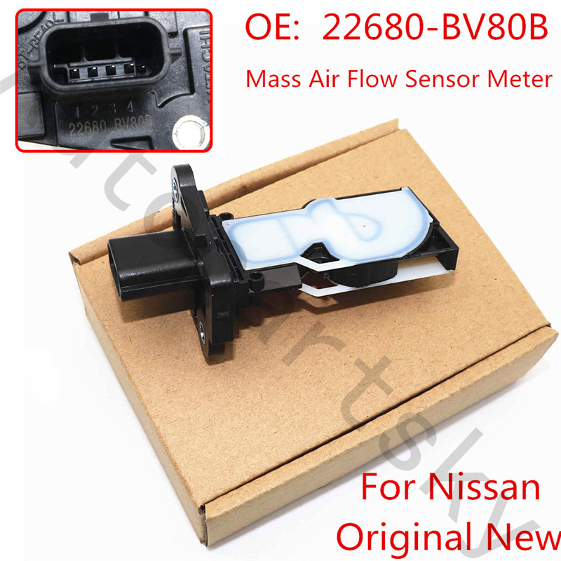 Original New For Nissan Altima 2016 Juke 2015 4Cyl Sentra Rogue Mass Air Flow Sensor Meter MAF Sensor 22680 BV80B 22680 5RB0A|Air Flow Meter| |  - title=
