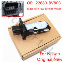 Original New For Nissan Altima 2016 Juke 2015 4Cyl Sentra Rogue Mass Air Flow Sensor Meter MAF Sensor 22680 BV80B 22680 5RB0A