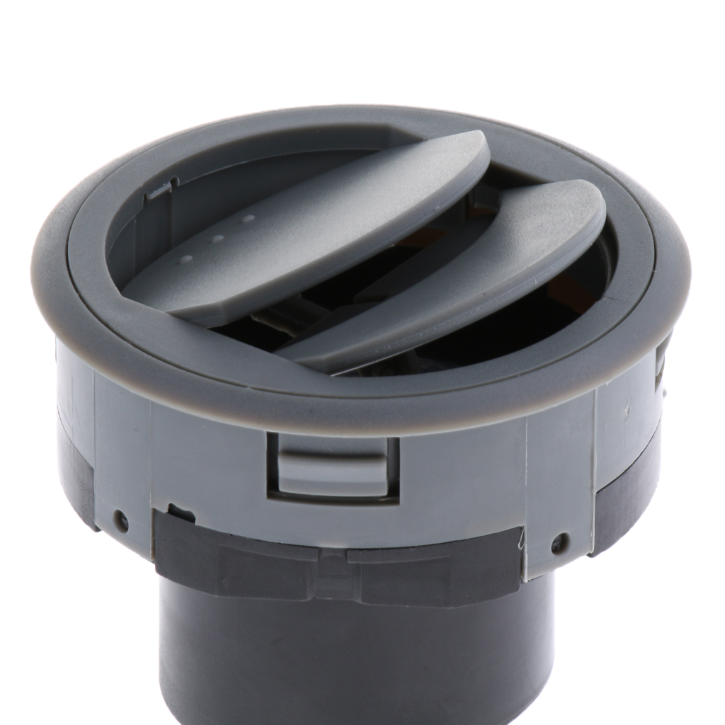 1 Piece 70x42mm Round Shape Vent Air Vent Ventilation Grille Vents For Car Hose Round Vent Fan