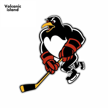13cm x 11.2cm For Wilkes-Barre Scranton Penguins Ahl Creative Car Stickers Vinyl Car Sticker Car Graphic Decal(China)