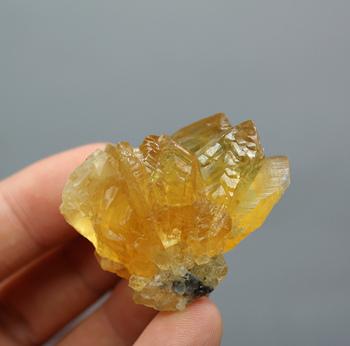 27g naturalny pomarańczowy kalcyt gatunek minerału kamienie i kryształy kryształy terapeutyczne kamienie kwarcowe darmowa wysyłka tanie i dobre opinie QIANCHUAN CN (pochodzenie) Maskotka FENG SHUI CHINA