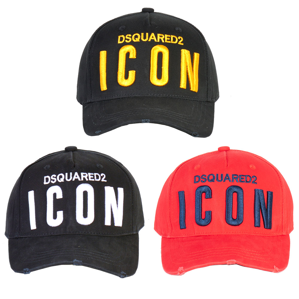 2021 men's and women's sun hat DSQUARED2 peaked cap fashion letter dome embroidered baseball cap DSQ2
