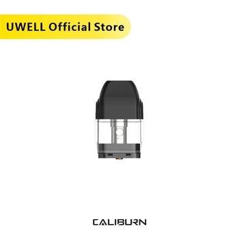 UWELL Caliburn Pod Cartridge 4Pcs/Pack 2ml Capacity 1.4 ohm Coil Head Vape Pod for Caliburn Kit Electronic Cigarette Vape Pod 20pcs vapesoon caliburn cartridge 2ml 1 4ohm for caliburn pod kit vape pod
