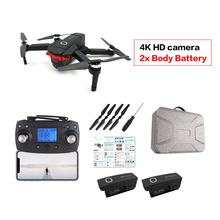 X46G Opvouwbare 4K Hd Camera Drone Met Camera Hd Optische Stroom Positionering Quadrocopter Hoogte Houden Fpv Quadcopter Rc Helicopter(China)