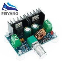 XH-M401 DC-DC step down buck conversor módulo de fonte de alimentação xl4016e1 pwm ajustável 4-40v a 1.25-36v step down board 8a 200w