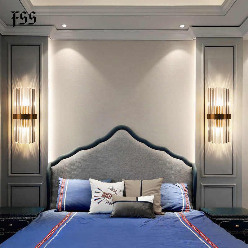 Modern duvar ışıkları başucu için yatak odası duvar lambası oturma odası dekorasyon duvar aplik Led ev aydınlatma banyo aydınlatma armatürleri