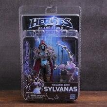 NECA גיבורי של הסערה Sylvanas ריינור Tyrael Arthas נובה Illidan PVC פעולה איור אסיפה דגם צעצוע