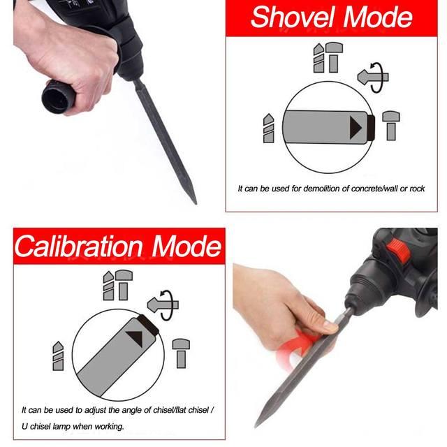 3 IN 1 88V/128V/228V 110-240V Multifunction Electric Cordless Brushless Hammer Impact Power Drill with Lithium Battery