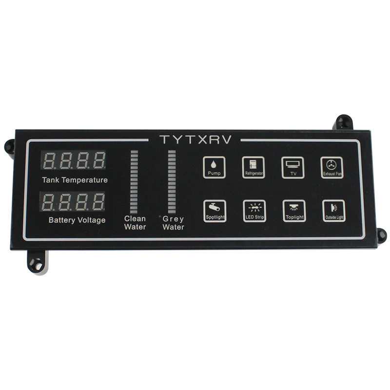 Image 2 - Touch Control Panel Water Level Indicator Voltemter Caravan Accessories 12V Camper Motorhome Control SystemRV Parts & Accessories   -