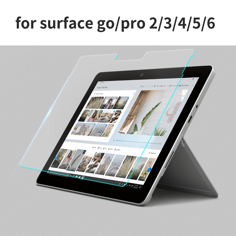 Tempered Glass For Microsoft Surface Pro 2 3 4 5 6 Screen Protector Glass For Microsoft Surface Go Screen Protectors