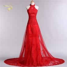 Red Soiree Festa Abendkleider