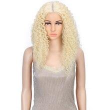 Парик Синтетический блонд для чернокожих женщин термостойкие