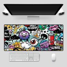 Mairuige анимированный коврик для мыши красочные граффити игровая