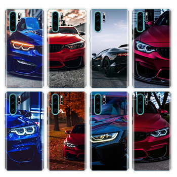 Blue Red for Bmw Phone Case For Huawei P40 P30 P20 P10 Mate 20 30 10 P Smart Z + Plus Lite Pro Fashion Cover Coque Capa image