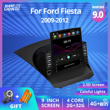2DIN Android 9,0 Auto Radio Für Ford Fiesta 2009-2012 Multimedia Video Player Touch-Screen Stereo Navigation Autoradio 2Din DVD
