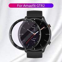 De fibra suave Protector de vidrio cubierta de película para Amazfit GTR 2 GTR2e 46mm Protector de pantalla Smartwatch caso