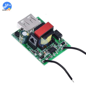 USB DC-DC 12V 24V 36V 48V 72V to 5V 1A Step Down Charger Module Isolated Power Supply Buck Converter Stabilizer USB Charging image