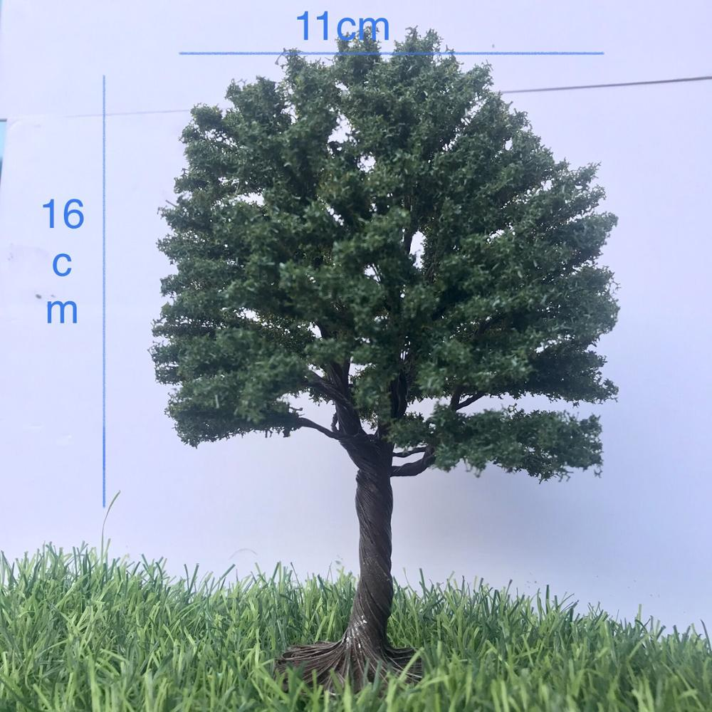 Tree Model Building Plastic Miniature Mini Model Trees Train Layout Landscape Scenery Diorama Miniatures