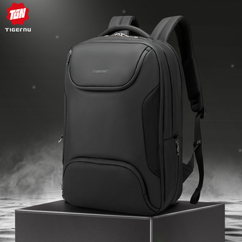 Tigernu 15.6 inch Men Anti-thief Laptop Backpack TPU Waterproof Male Bag USB Charging Travel For High Quality Mochila - discount item  55% OFF Backpacks