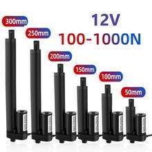 Motor-Controller Electric-Motor Linear-Actuator Stroke 100mm 50mm 12V 100/200/300-/..