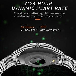 Image 5 - Epopoos smart watch 2020強化ガラスタッチスクリーンフィットネススマートウォッチIP68防水心拍数血圧smart watch es