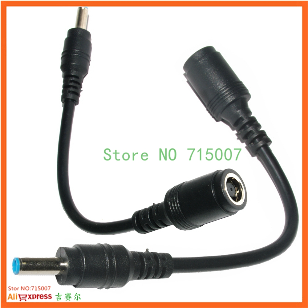 7.4 x 0.6mm Male to 4.5 x 3.0mm Female Interfaces Power Adapter Charger Cable