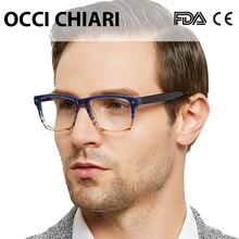 Высококачественные очки, модные квадратные черные мужские оправа для очков ацетат, весенние петли, оправы для очков, мужские W-COLORI